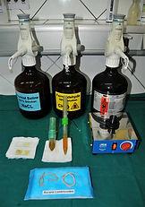 Faecal concentration examination technique
