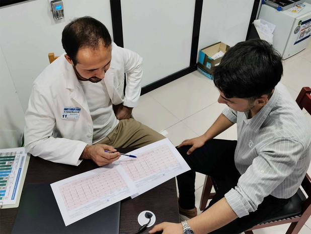 Dr. Hammed ECG evaluation