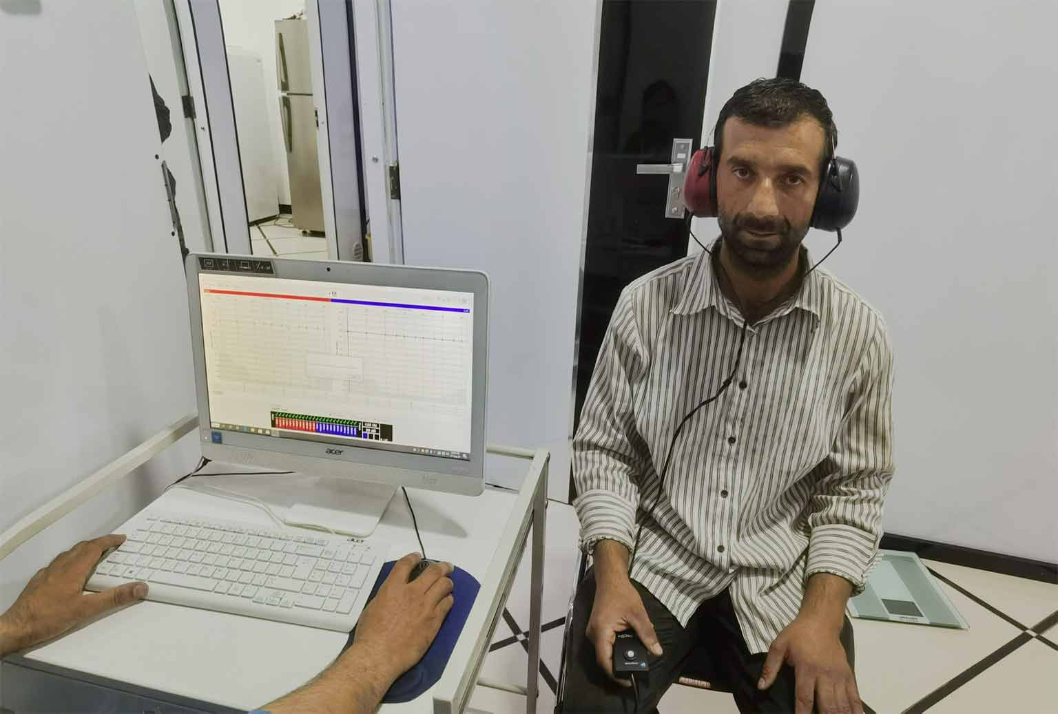 Hearing tests / Audiometry