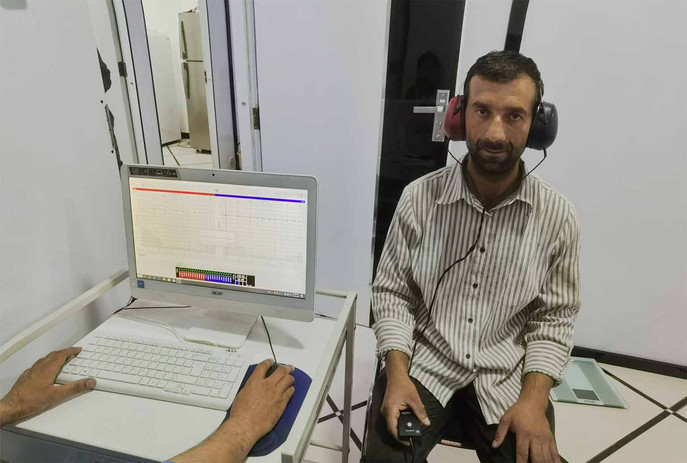 Hearing tests / Audiometry