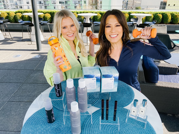 California Live | NBC: Beauty Products For Your Workout Routine