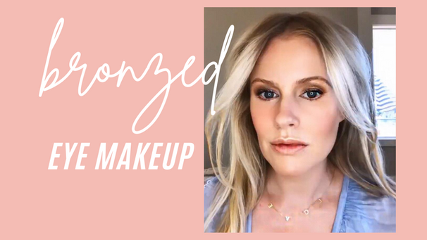 Bronzed Eye Makeup Tutorial