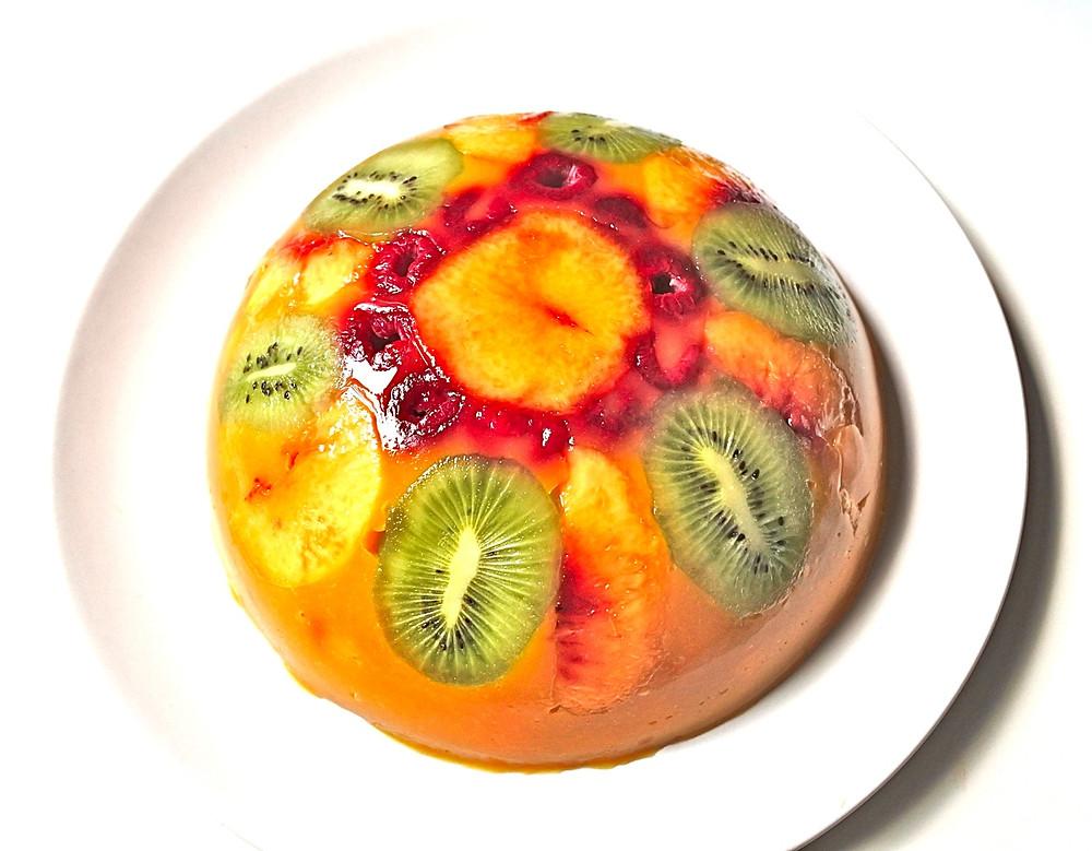 Bombe aux fruits frais