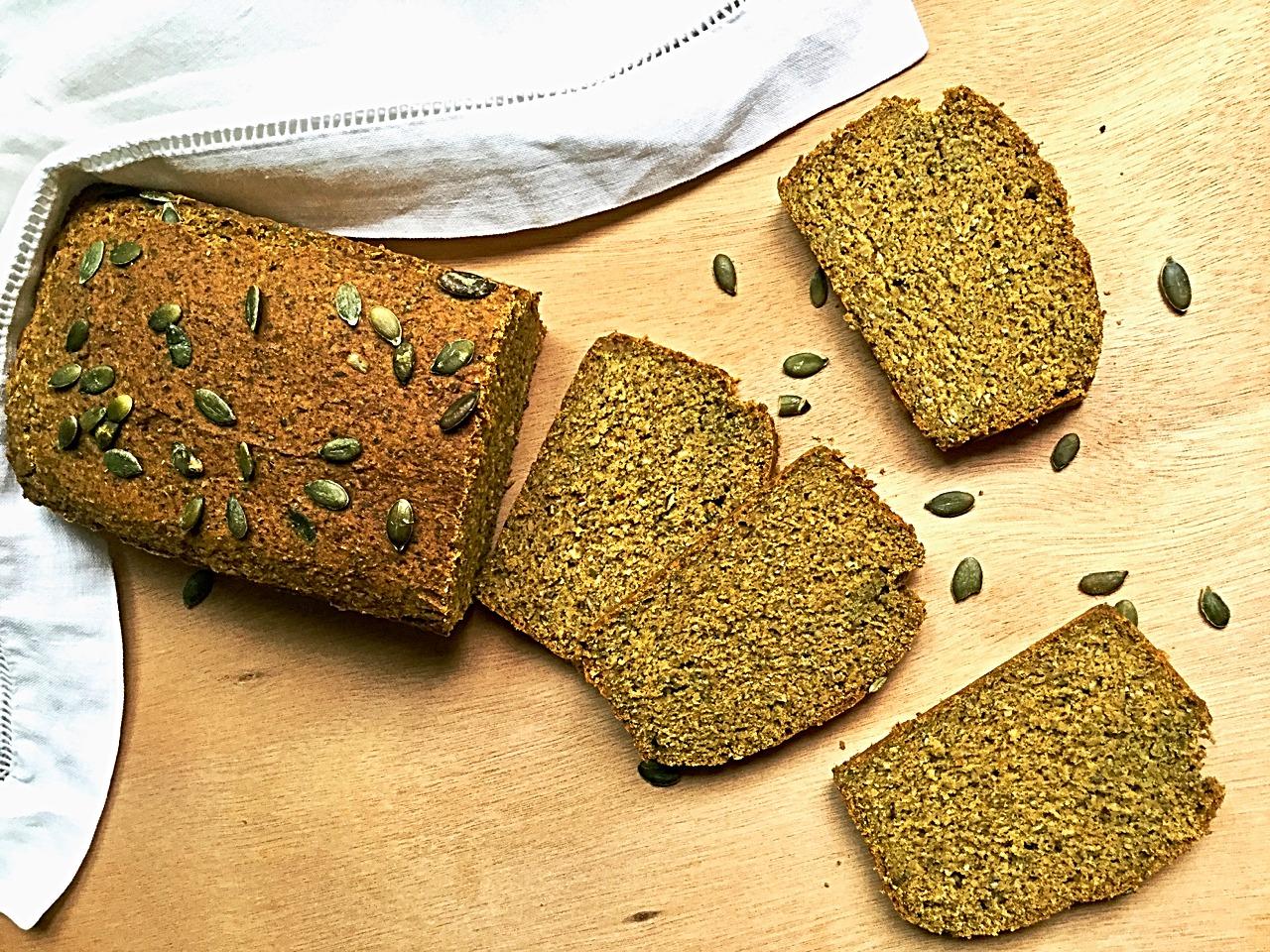Pumpkin bread aux graines