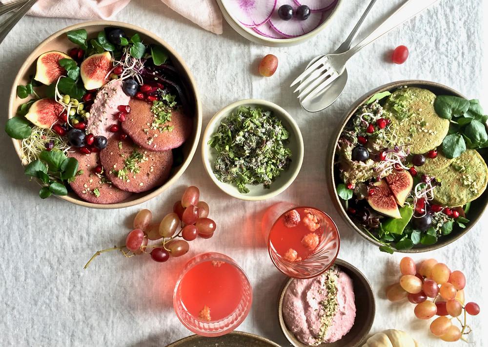 Happy veggie bowl