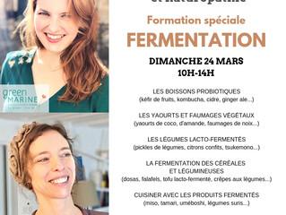 FORMATION FERMENTATIONS