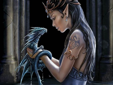 Hubby vs. Wifey Post #1: An elf and a dragon