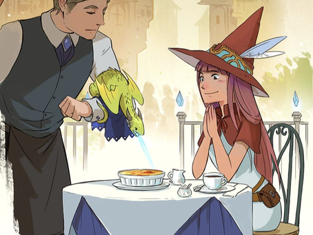 Hubby vs. Wifey Post #10: A Hat, a Dessert, and a Dragon
