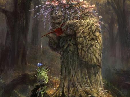 Hubby vs. Wifey Prompt #12: A Tree Watering a Tree