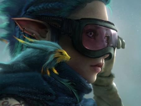 Hubby vs. Wifey vs. Friends Post #21: Elvish Cyberpunk - with Blue Weasel