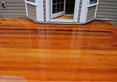 Garapa hardwood flooring