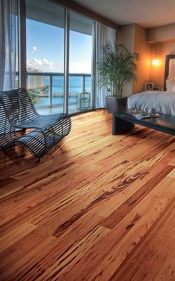 Tigerwood Brazilian Koa Flooring