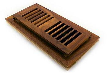 Flushmount wood vent