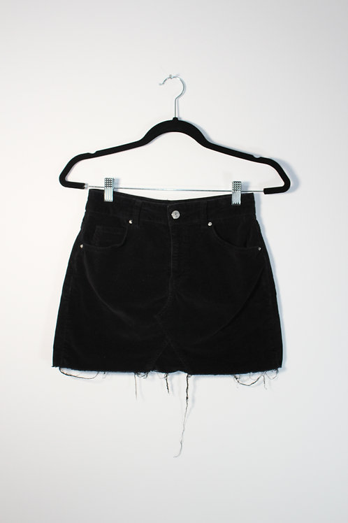 Mini jupe noir Topshop