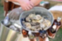 Scottish oysters brought to your event