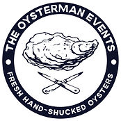 The Oysterman Events hand-shucked catering. Freshly opened oysters.