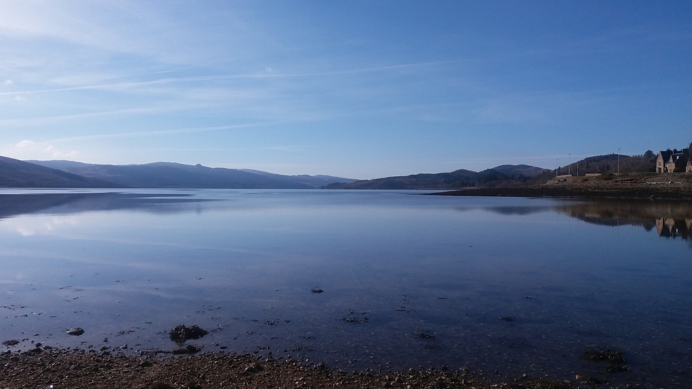 Look down Loch Fyne from Inverary