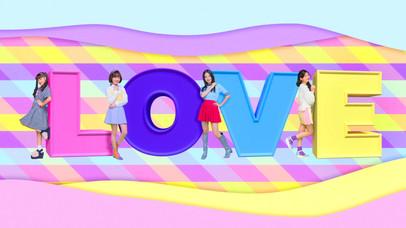 lovely²  「LOVE²」MV