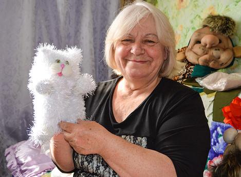 Кукольный мир Марии Захаренковой