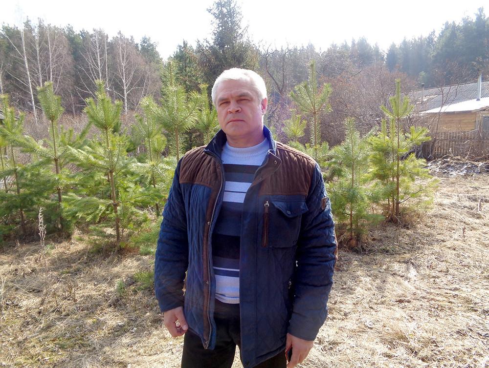 Руководитель Асиновского лесничества С.Г. Семенцов