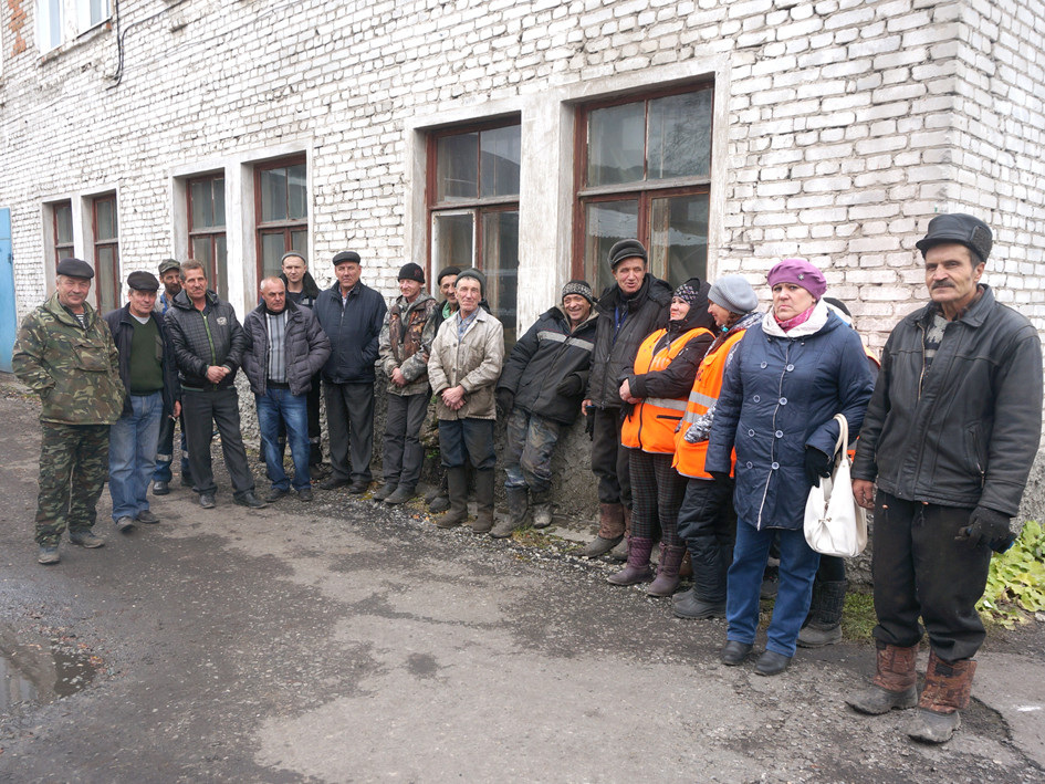 Работники МУП «Спецавтохозяйство»