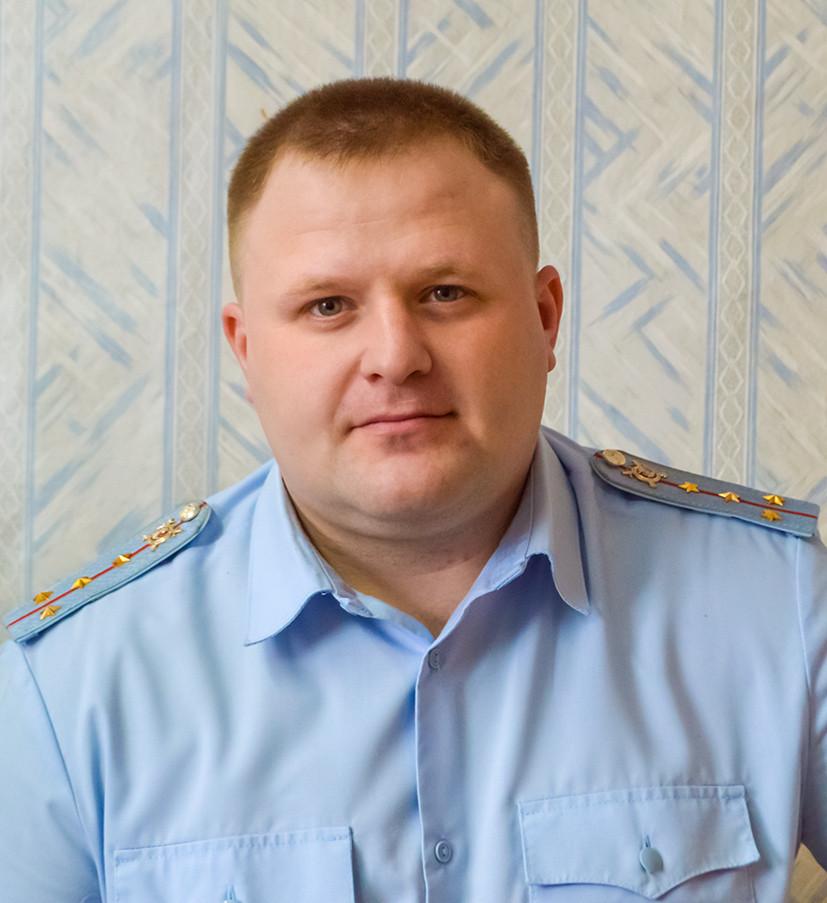 капитан полиции Антон ШЕПЕЛЕВ.