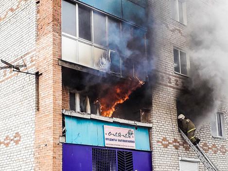 Огонь унес жизни людей