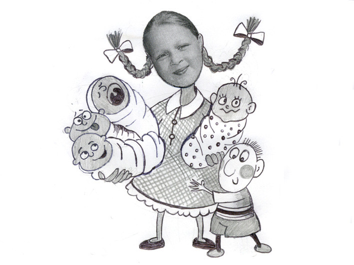 Лиза Зыкова, 11 лет
