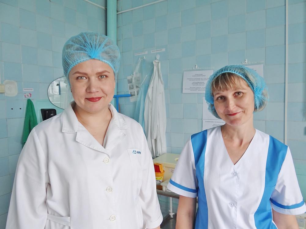 Обладательницы красных дипломов Татьяна Барышева и Анастасия Куланачева.