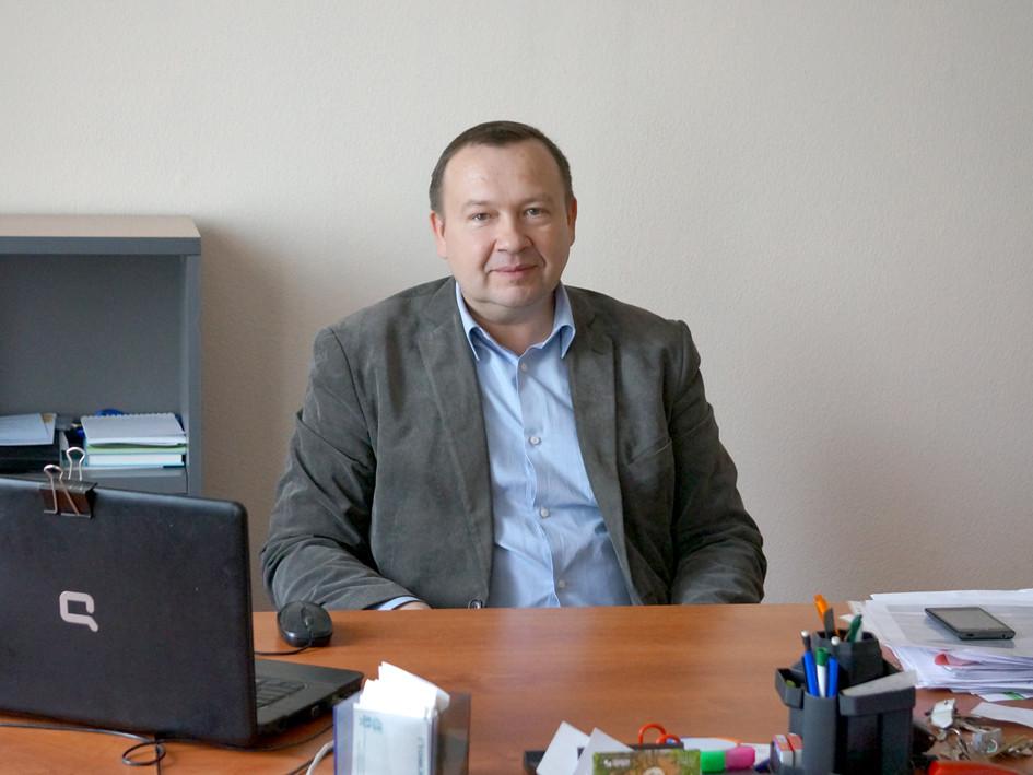 М.Б. Красильников, директор Асиновского бизнес-центра