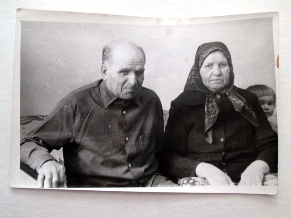 Моисей Григорьевич и Мария Семеновна Каревы, 1979 г.