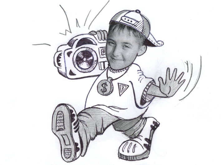 Кирилл Толстой, 9 лет