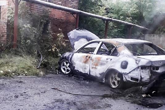 Поджог автомобилей2