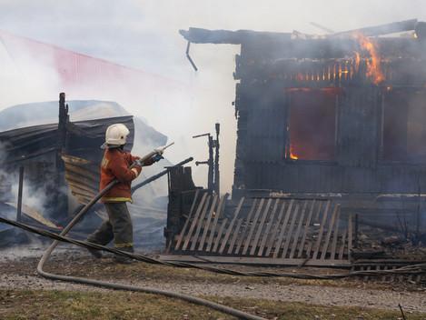 Беспечность привела к пожарам