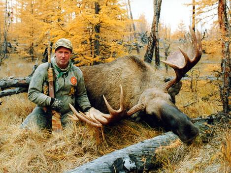 Охотники отправляются добывать лосей