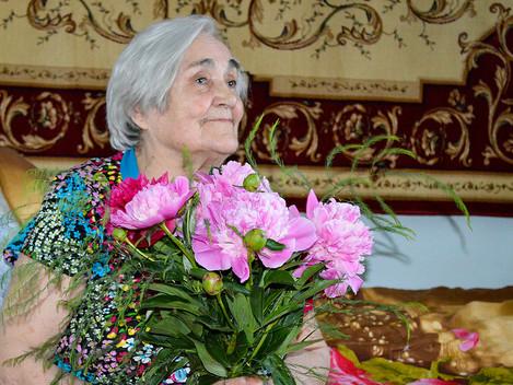 Отметила 90-летний юбилей