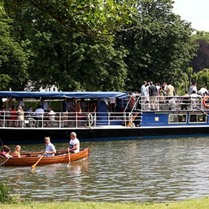 Fiftieth anniversary Thames boat trip