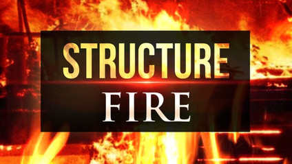 Fire departments respond to structure fire in Acadia Parish on Monday morning.