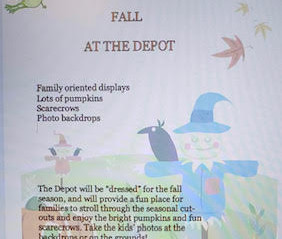 "Community members of Rayne present ""Fall at the Depot"""