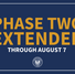 Edwards extends Phase two for another 28 days