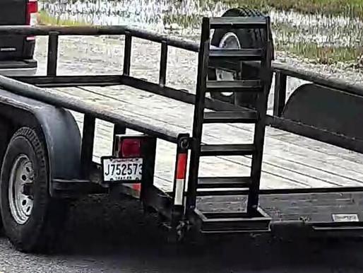APSO seeking the public's assistance in finding a stolen utility trailer