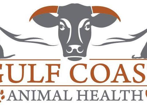 Need a vet? Go to Gulf Coast Animal Health.
