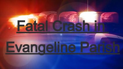 Driver killed in single-vehicle crash in Evangeline Parish