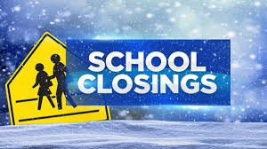 School closures for Wednesday, February 17th