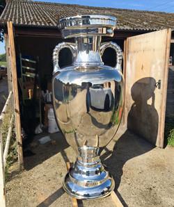 Uefa cup spray chrome