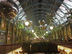 Covent Garden xmas baubles
