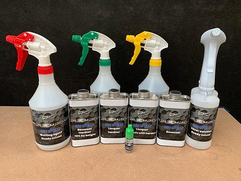 Spray chrome DIY kit