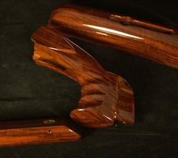 hydrographic wood finish on stock
