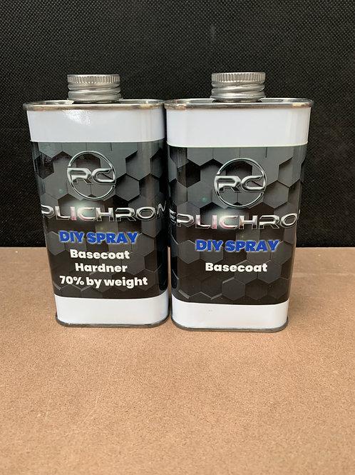 DIY Basecoat refill 2 litre kit