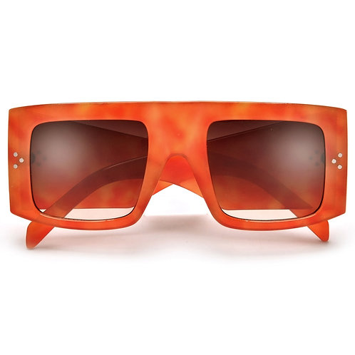 High Fashion Thick Temple Oversized Sunnies